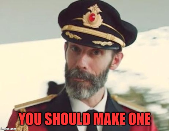 Captain Obvious | YOU SHOULD MAKE ONE | image tagged in captain obvious | made w/ Imgflip meme maker
