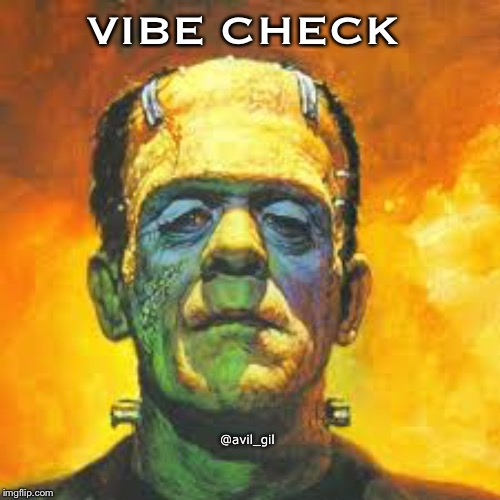 VIBE CHECK @avil_gil | image tagged in halloween | made w/ Imgflip meme maker