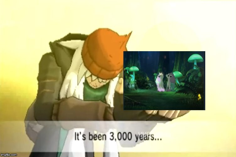 It's been 3000 years | image tagged in it's been 3000 years,ponyta,swsh | made w/ Imgflip meme maker
