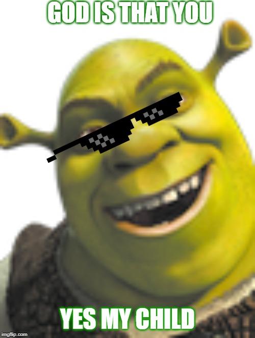 Shrek Face Memes Gifs Imgflip