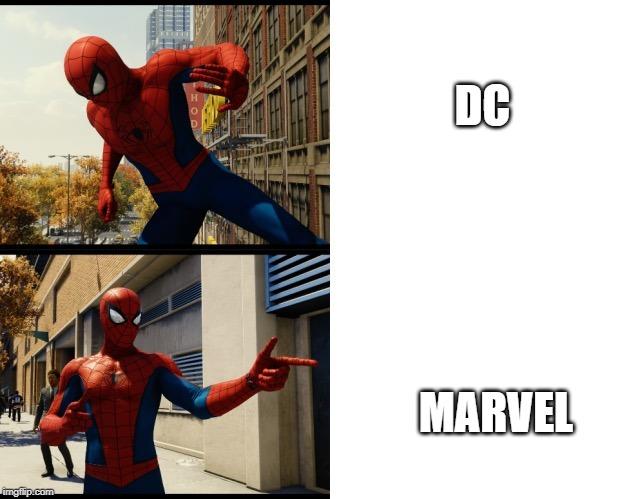 Spider-Man Drake meme - Imgflip
