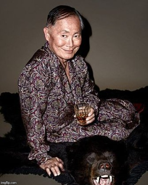George Takei | image tagged in george takei | made w/ Imgflip meme maker