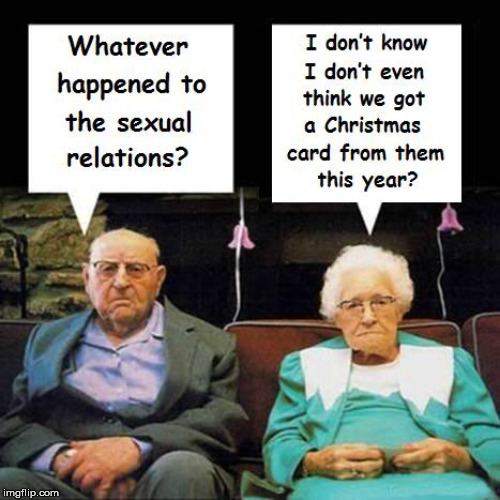 Did They Move? | image tagged in old people,communication,people,white | made w/ Imgflip meme maker
