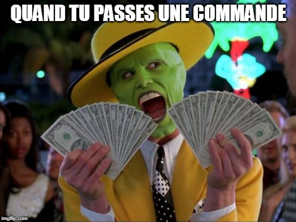 Money Money | QUAND TU PASSES UNE COMMANDE | image tagged in memes,money money,library,librarian | made w/ Imgflip meme maker