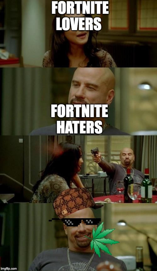 Sonic Boom | FORTNITE LOVERS FORTNITE HATERS | image tagged in sonic boom | made w/ Imgflip meme maker