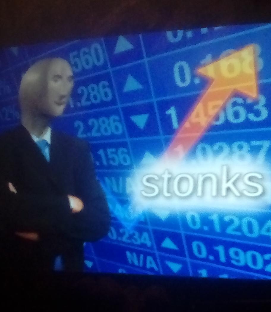 Stonks Blank Template - Imgflip