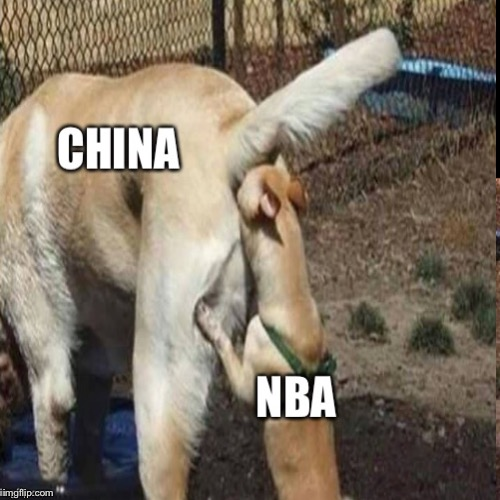image tagged in china,nba | made w/ Imgflip meme maker