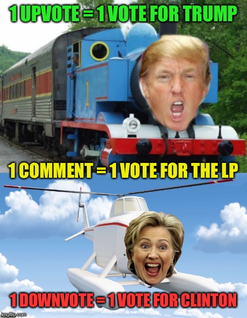Image tagged in trump train - Imgflip
