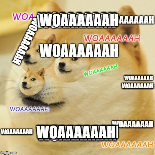 Doge |  WOAAAAAAH; WOAAAAAAH; WOAAAAAAH; WOAAAAAAH; WOAAAAAAH; WOAAAAAAH; WOAAAAAAH; WOAAAAAAH; WOAAAAAAH; WOAAAAAAH; WOAAAAAAH; WOAAAAAAH; WOAAAAAAH; WOAAAAAAH; WOAAAAAAH; WOAAAAAAH; WOAAAAAAH; WOAAAAAAH; WOAAAAAAH | image tagged in memes,doge | made w/ Imgflip meme maker
