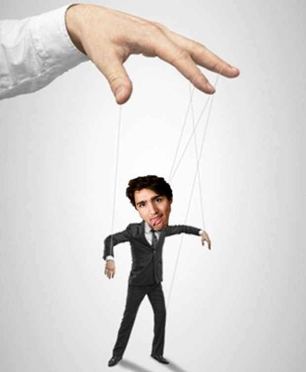 The Puppet Trudeau Blank Template - Imgflip