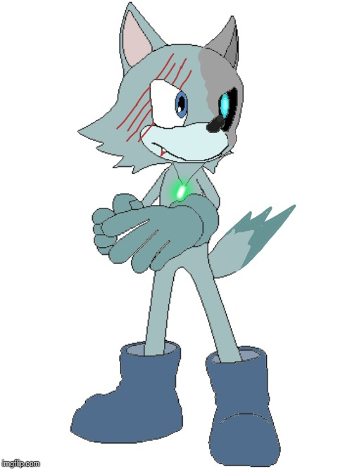Lupus Cyber, my wolf OC from the Sonic the Hedgehog Universe. | image tagged in sonic the hedgehog,ocs | made w/ Imgflip meme maker