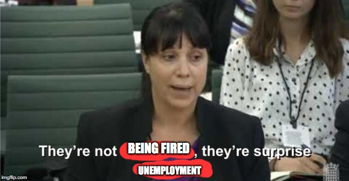 BEING FIRED UNEMPLOYMENT | image tagged in they are not loot boxes | made w/ Imgflip meme maker