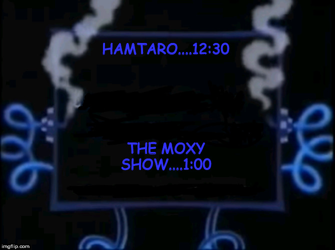 CN NEXT HAMSTER | HAMTARO....12:30 THE MOXY SHOW....1:00 | image tagged in cn next hamster | made w/ Imgflip meme maker