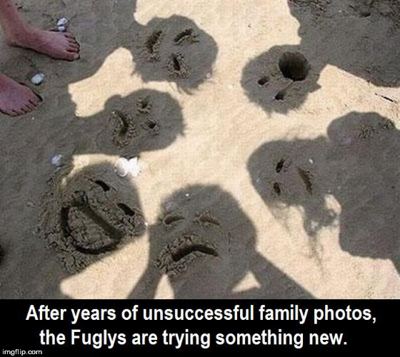 The Fuglys | image tagged in funny,ugly,family | made w/ Imgflip meme maker