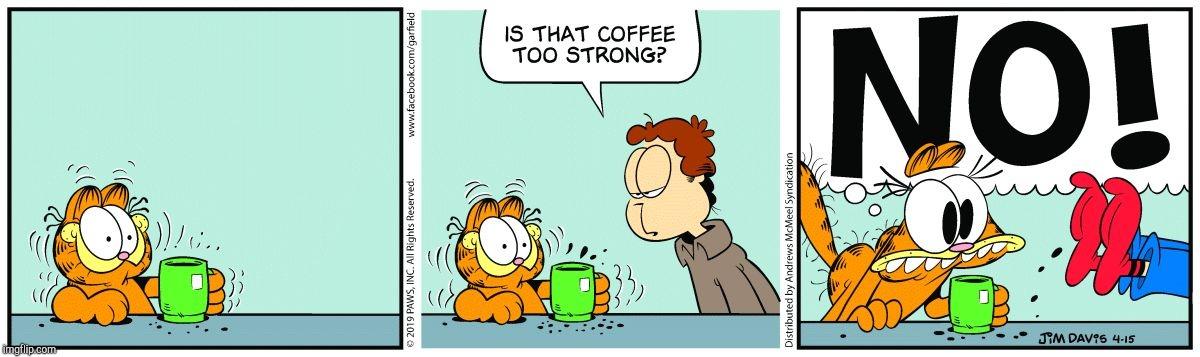 Memesallday Garfield Crazy Coffee Memes Gifs Imgflip