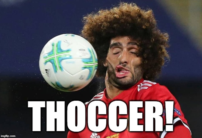 THOCCER! | image tagged in soccer,futbol | made w/ Imgflip meme maker