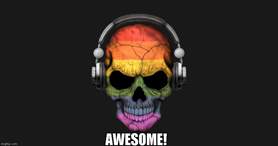 itunes | AWESOME! | image tagged in itunes | made w/ Imgflip meme maker