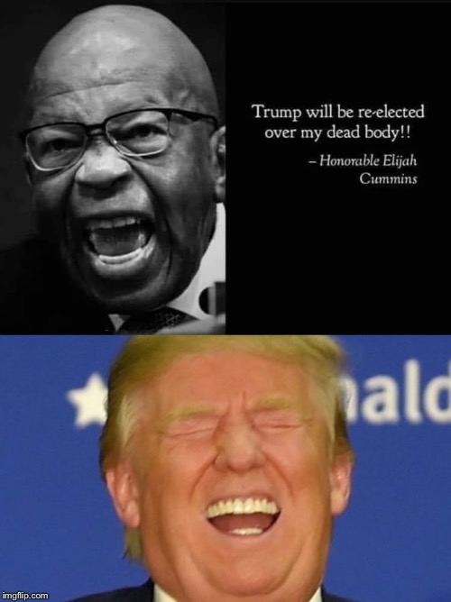 image tagged in trump laughing,democrats,election 2020,trump impeachment | made w/ Imgflip meme maker