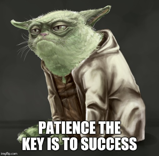 PATIENCE THE KEY IS TO SUCCESS | made w/ Imgflip meme maker
