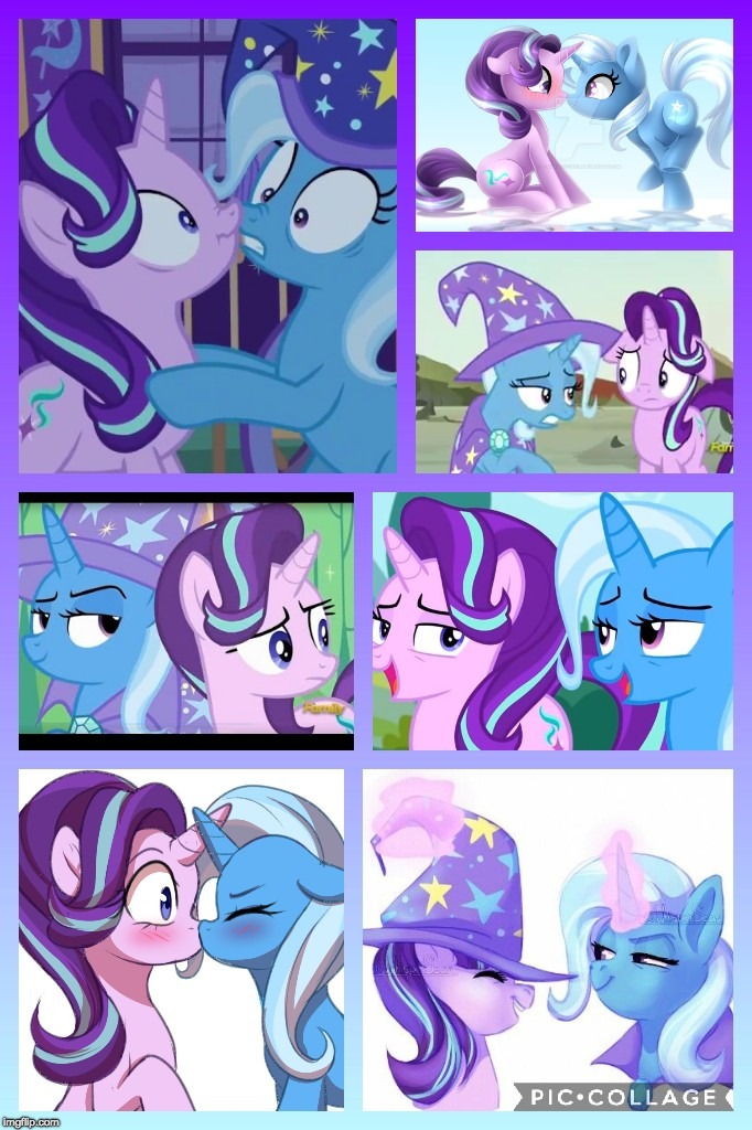Startrix :D | image tagged in memes,ponies,shipping,starlight glimmer,the great and powerful trixie | made w/ Imgflip meme maker