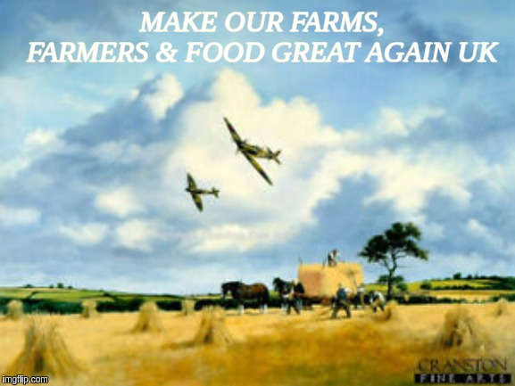 #GREATBRITAIN #UK #ALBION XXX | MAKE OUR FARMS, FARMERS & FOOD GREAT AGAIN UK | image tagged in maga,mega,the great awakening,qanon,food,farmers | made w/ Imgflip meme maker