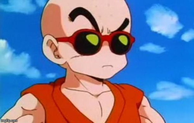 Dragon Ball Z Krillin Swag | image tagged in dragon ball z krillin swag | made w/ Imgflip meme maker