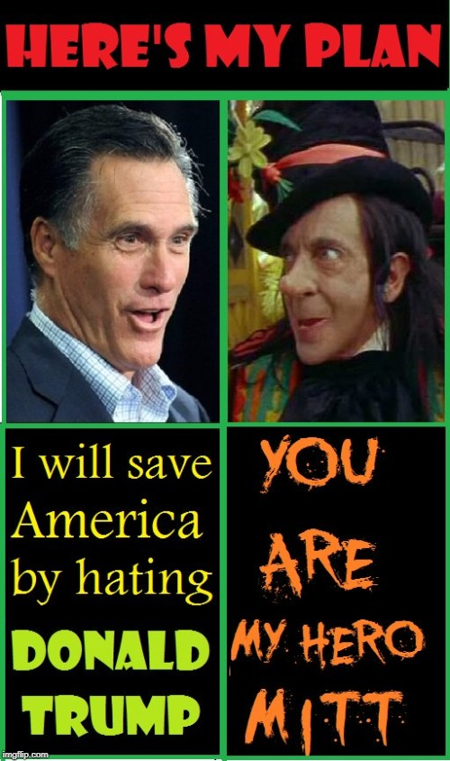 """How I Saved America"" by Mitt Romney 