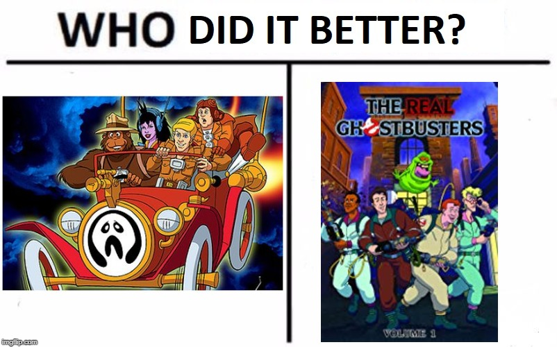 Who Ya Gonna Call? | image tagged in ghostbusters | made w/ Imgflip meme maker