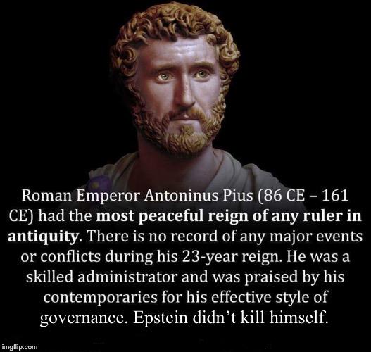 Epstein didn't kill himself - Imgflip