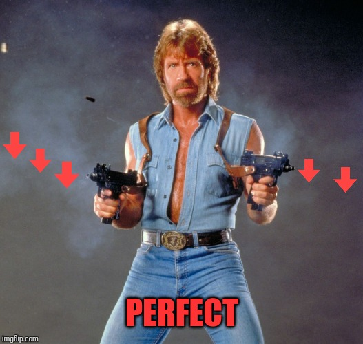 Chuck Norris Guns Meme | PERFECT | image tagged in memes,chuck norris guns,chuck norris | made w/ Imgflip meme maker