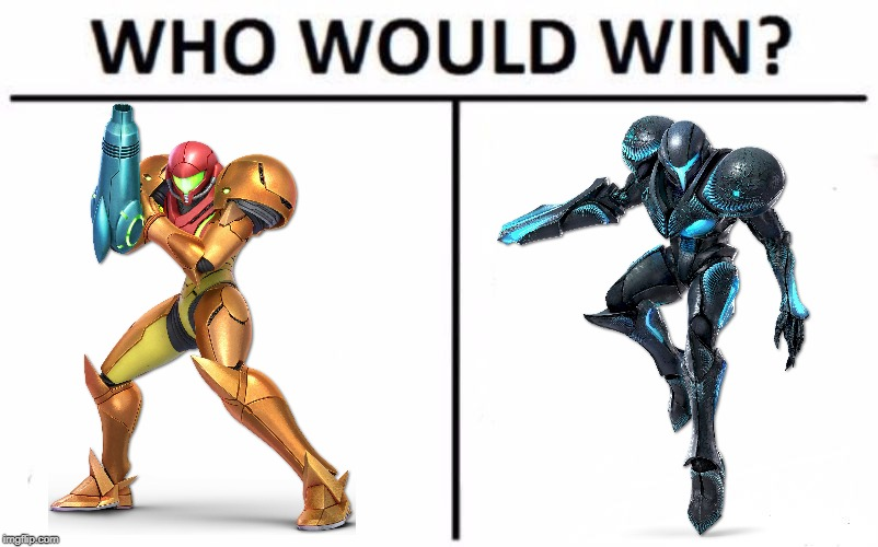 ssbu nutshell 17-18/82 | image tagged in memes,who would win,metroid,samus | made w/ Imgflip meme maker