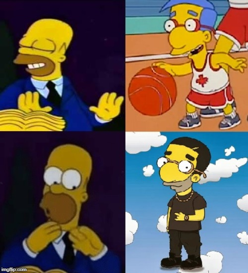 Hotter-line Bling | image tagged in drake hotline bling,homer simpson,bl4h8l4hbl4h,funny memes | made w/ Imgflip meme maker