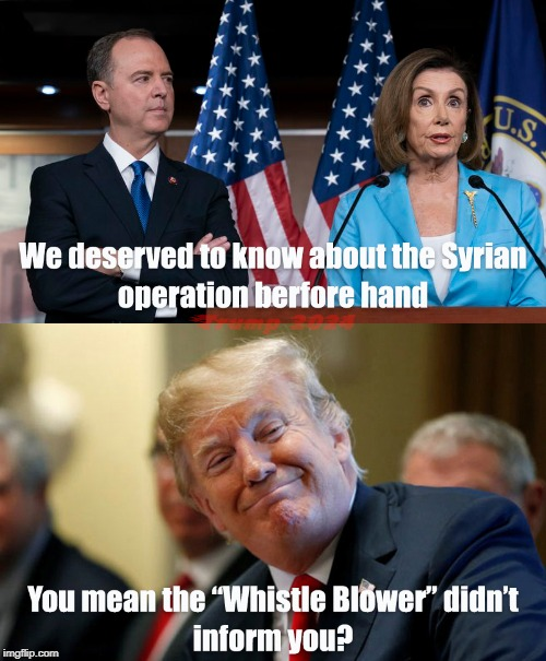 The Whistle Blower Lost Their Whistle | image tagged in whistleblower,baghdaddi,syria,funny,political meme | made w/ Imgflip meme maker