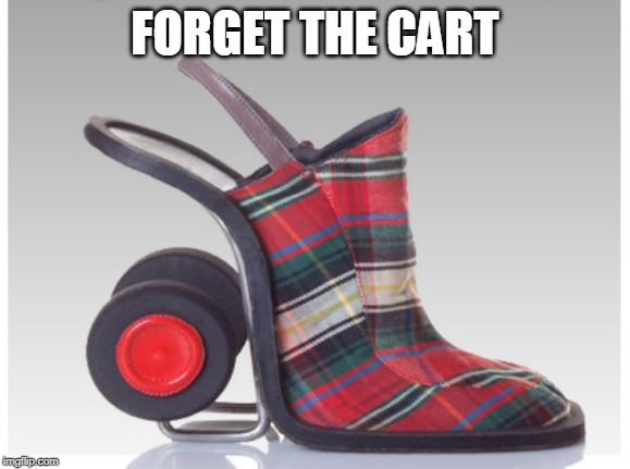 FORGET THE CART | made w/ Imgflip meme maker