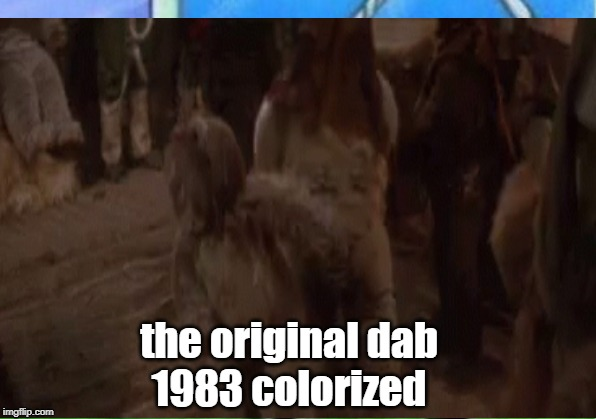 the original dab1983 colorized | image tagged in dab | made w/ Imgflip meme maker