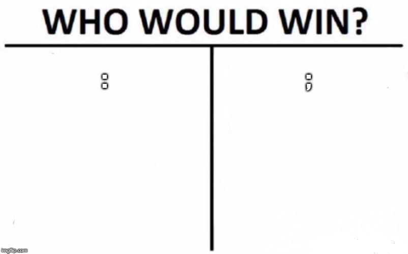 Who Would Win? Meme | : ; | image tagged in memes,who would win | made w/ Imgflip meme maker