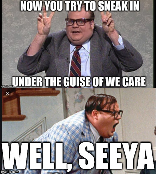 Chris FARLEY THE MAN! | image tagged in chris farley,just try,we care | made w/ Imgflip meme maker