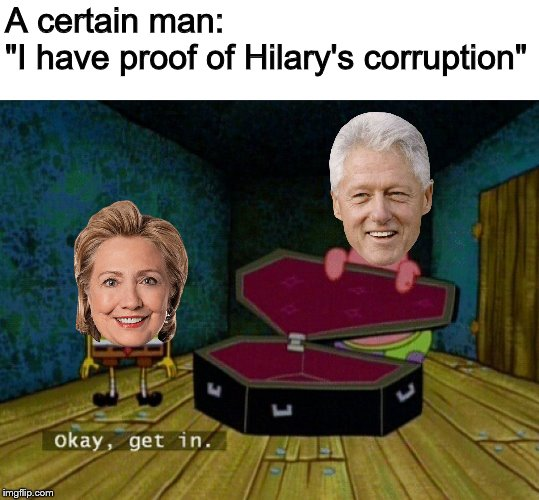 "Epstein was suicided |  A certain man: ""I have proof of Hilary's corruption"" 