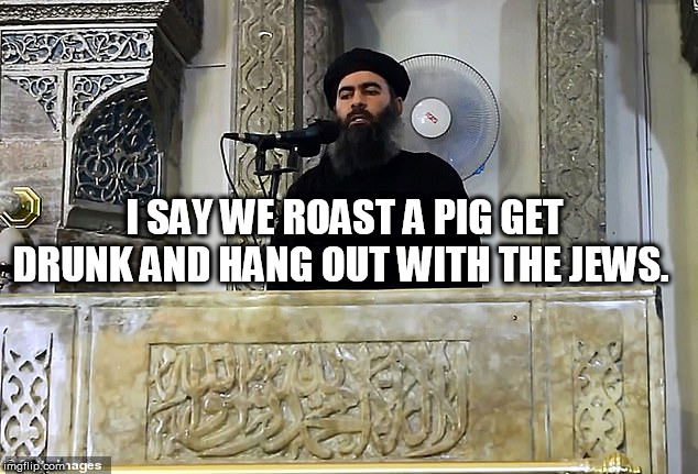 I SAY WE ROAST A PIG GET DRUNK AND HANG OUT WITH THE JEWS. | image tagged in rat | made w/ Imgflip meme maker