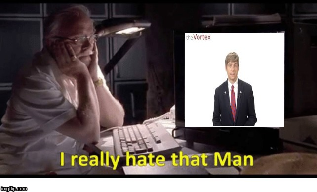image tagged in michael voris,jurassic park,i really hate that man | made w/ Imgflip meme maker