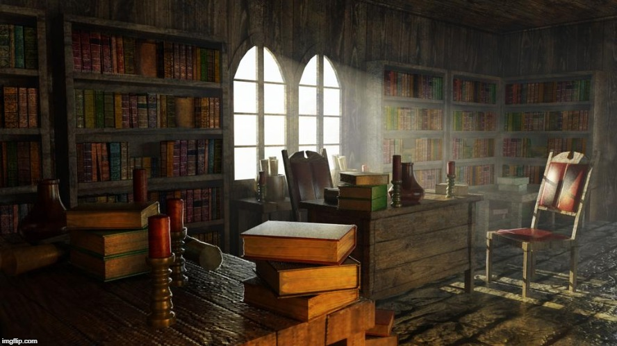 """The Study Room"" A little backstory/lore 