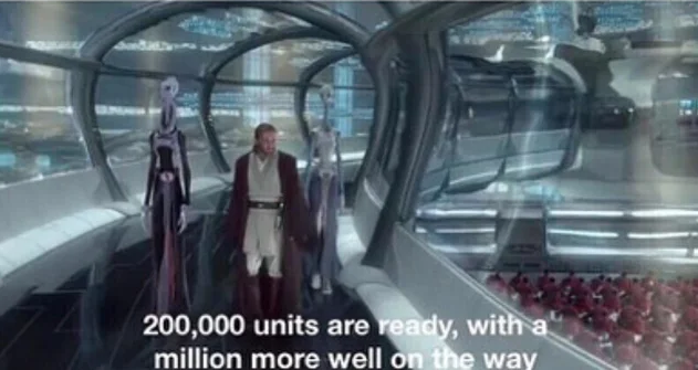 200,000 units are ready with a million more well on the way Blank ...