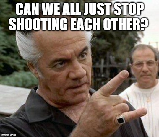 Paulie Gualtieri | CAN WE ALL JUST STOP SHOOTING EACH OTHER? | image tagged in paulie gualtieri | made w/ Imgflip meme maker