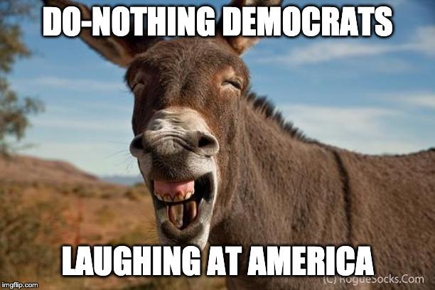 The do-nothing Democrats #VetsForTrump