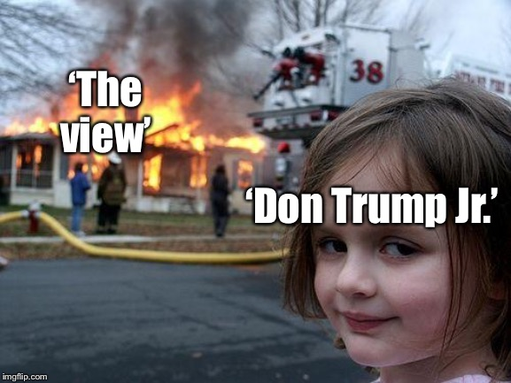 """Why would he even go on that show?"" You might ask... to further expose how hateful the left is! That's why! 