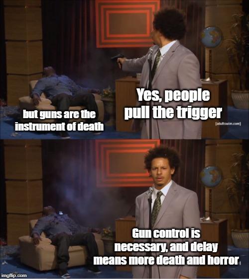 7 of the Internet's Best Gun Memes  Trigger Control Meme