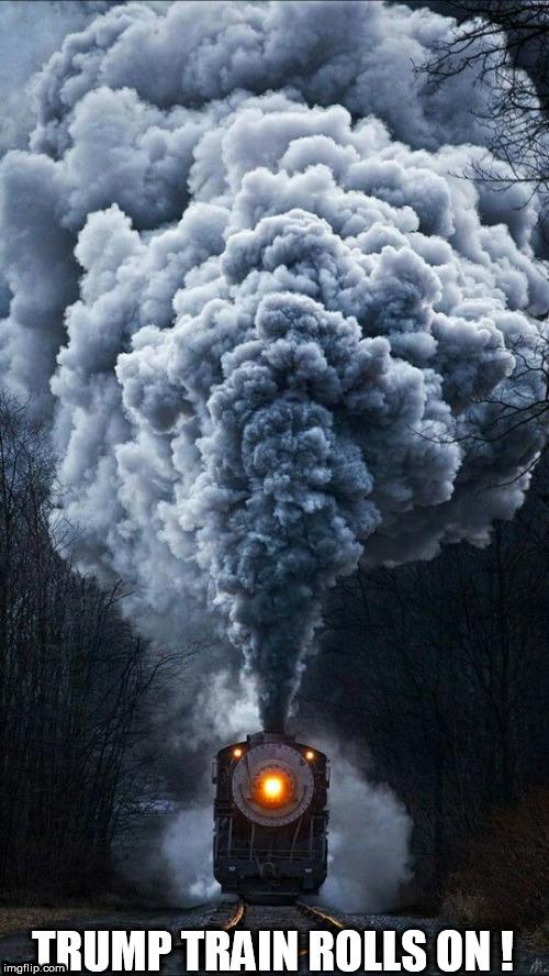 trump train - Imgflip