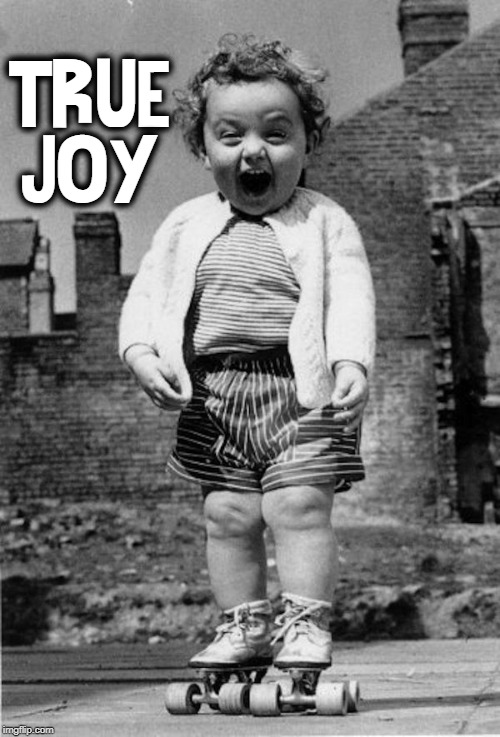 Happiness is that moment when  you finally learn to skate |  TRUE JOY | image tagged in vince vance,happiness is,little girl,do you remember,a time when you were happy,vintage photo | made w/ Imgflip meme maker
