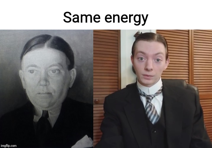 ReportOfTheCentury | Same energy | image tagged in memes,comparison | made w/ Imgflip meme maker