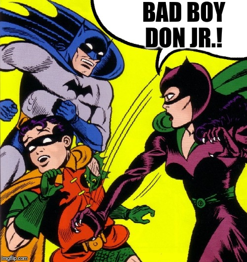Detective Comics #122 | BAD BOY DON JR.! | image tagged in detective comics 122 | made w/ Imgflip meme maker